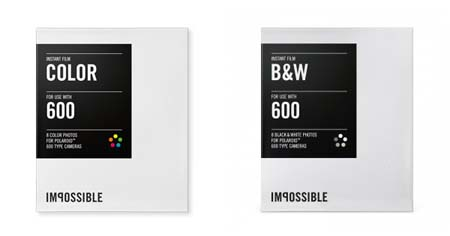 Impossible project 600 film