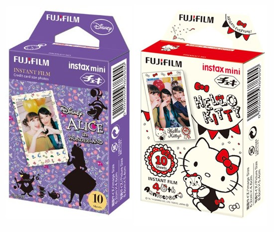 Fujifilm Instax Mini Film themes