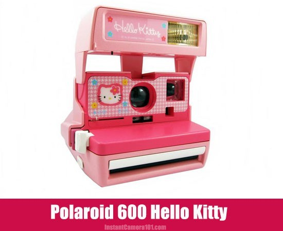 Polaroid 600 Hello Kitty Camera