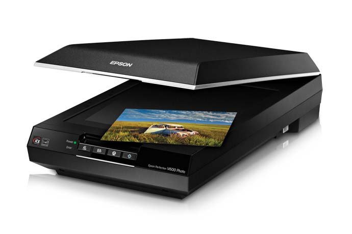 Epson Perfection V600 film scanner