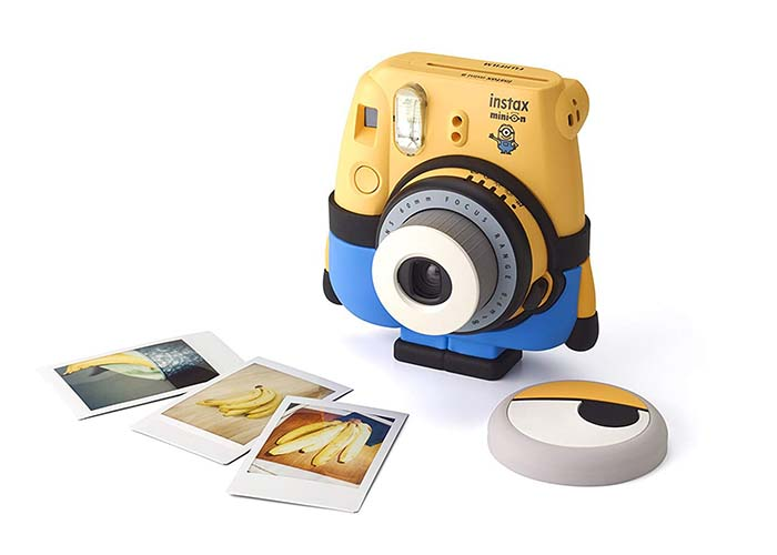 Instax Minions instant photo camera