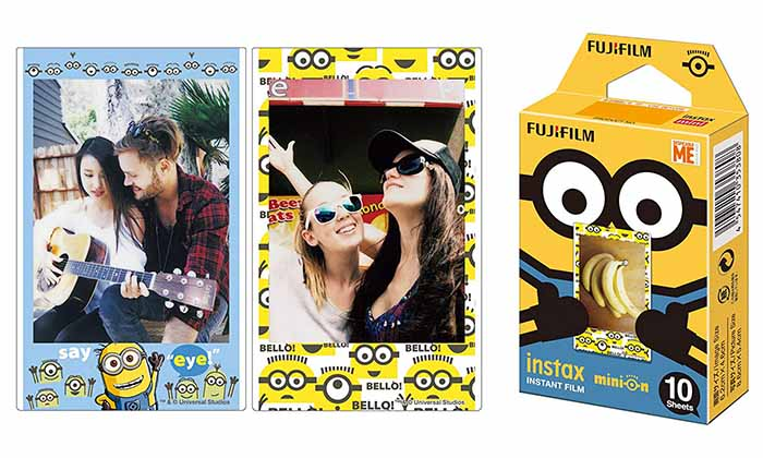 Minions Instant Film Packs
