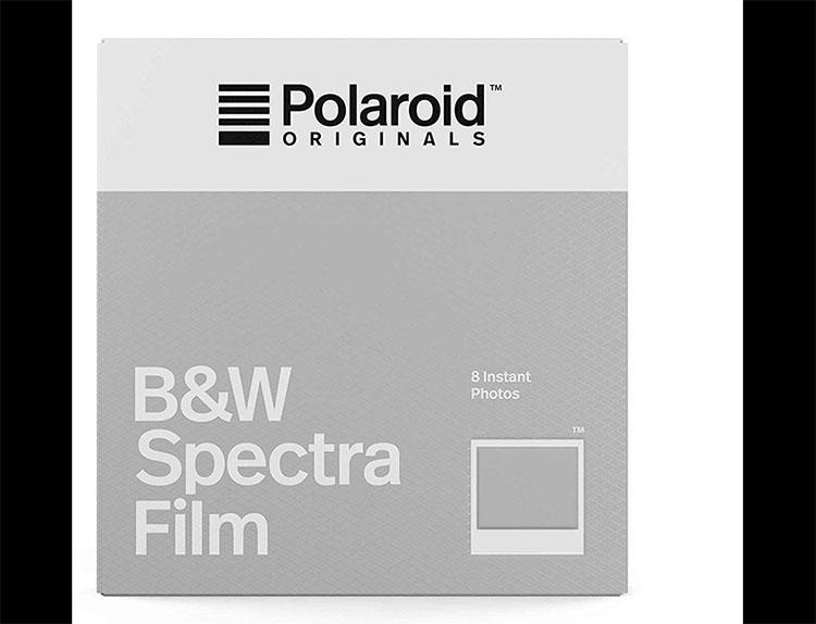 Polaroid Spectra Film B&W